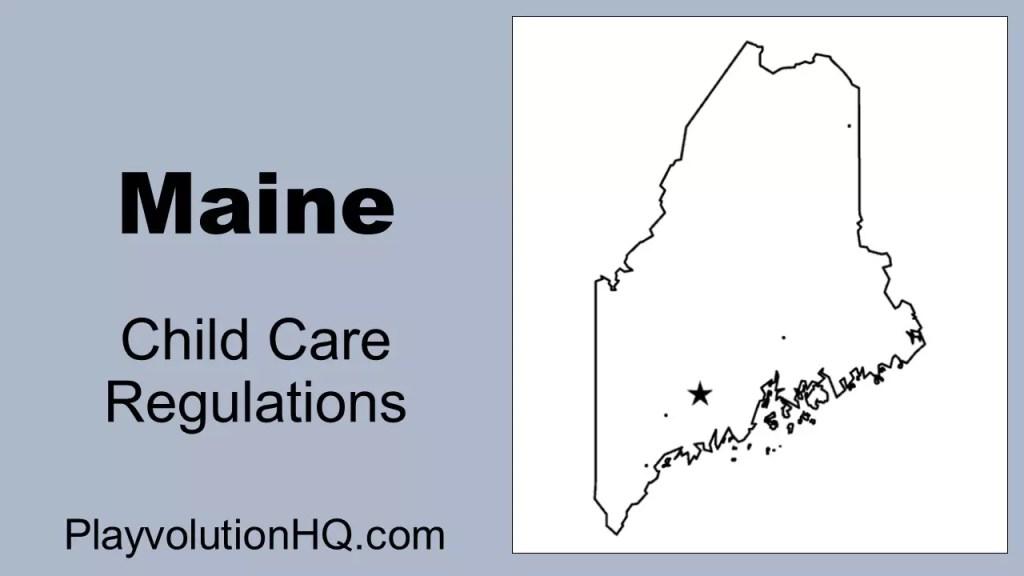 Licensing Regulations | Maine