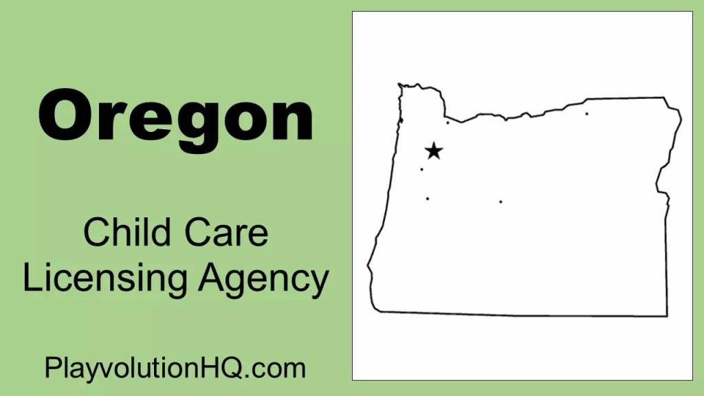 Licensing Agency | Oregon