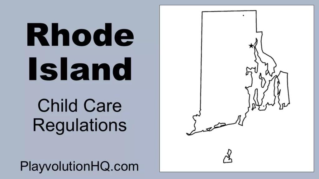 Licensing Regulations | Rhode Island