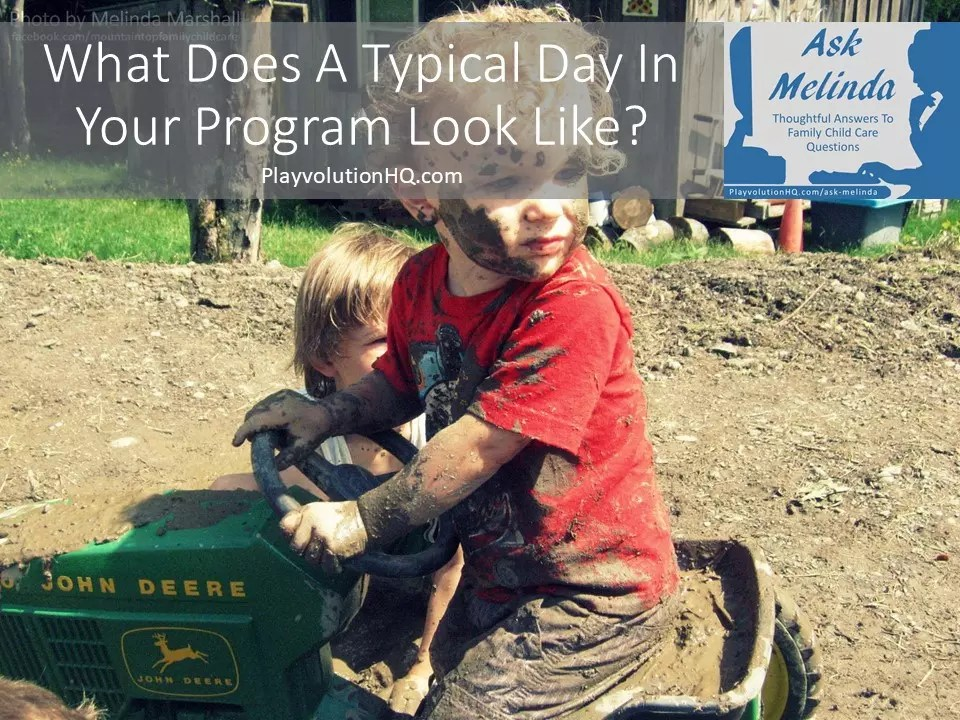What Does A Typical Day In Your Program Look Like?