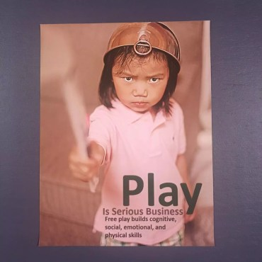 Play Is Serious Business Poster
