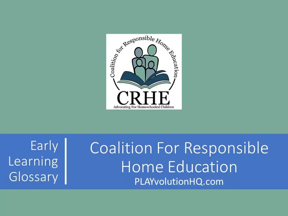 Coalition For Responsible Home Education