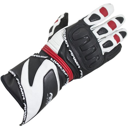 Armr Moto S550 Motorcycle Gloves Black/Red