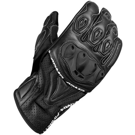 Armr Moto SHL445 Motorcycle Gloves Black
