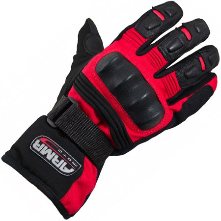 Armr Moto WP525 Motorcycle Gloves Red