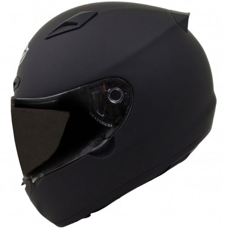 MT Matrix Motorcycle Helmet Matt Black