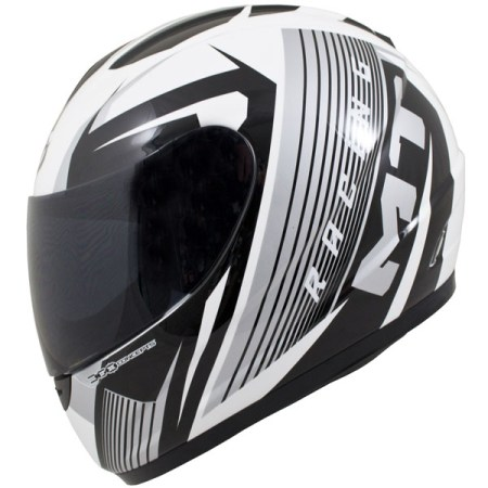 MT Thunder Axe Motorcycle Helmet Grey