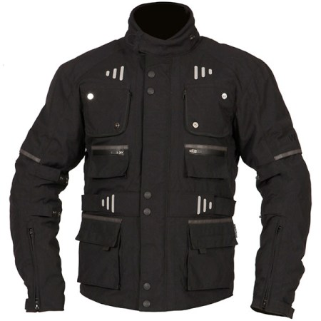 Weise Outlast Baltimore Motorcycle Jacket Black