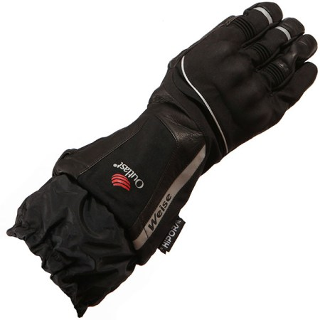 Weise Outlast Strada Motorcycle Gloves Black