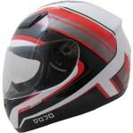 Dojo Imola Overcome Motorcycle Helmet Red
