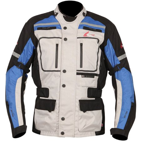 Weise Stuttgart Motorcycle Jacket Blue