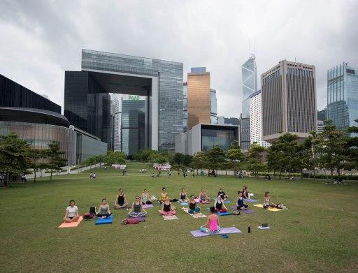 20150502 - Cora Tamar Park Yoga II - 010