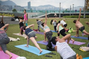 20150502 - Cora Tamar Park Yoga II - 279