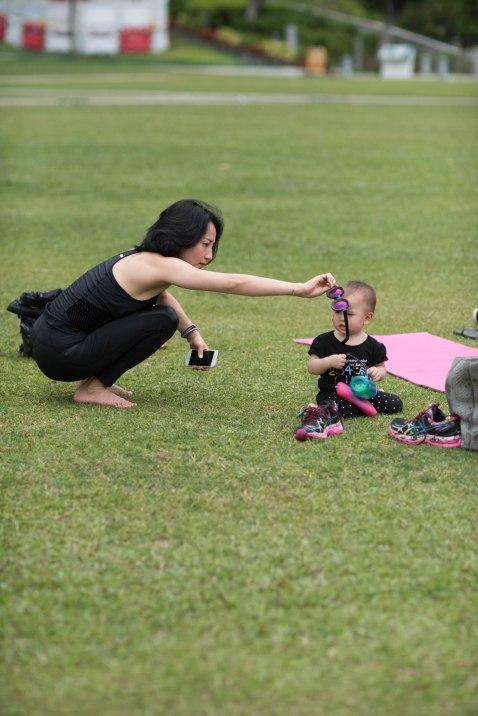 20150502 - Cora Tamar Park Yoga II - 301