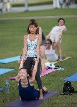 20150502 - Cora Tamar Park Yoga II - 362