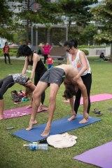 20150502 - Cora Tamar Park Yoga II - 520