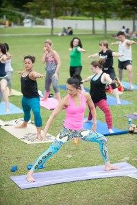 20150502 - Cora Tamar Park Yoga II - 865