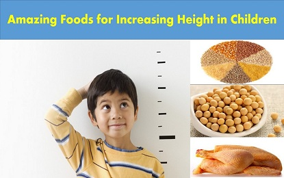 Did You Know these 8 Foods to Increase Height of Children Rapidly