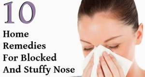 10 Natural Home Remedies for Stuffy Blocked Nose