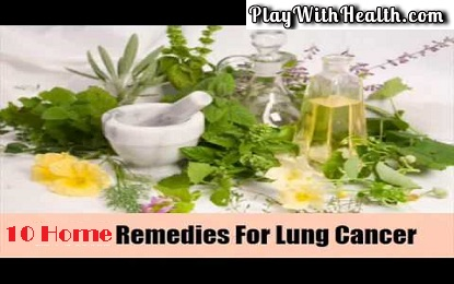 10 Home Remedies For Lung Cancer