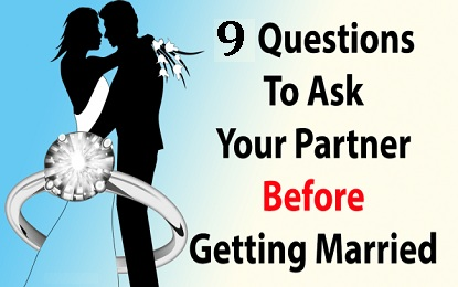 10 Questions to Ask Before Getting Married