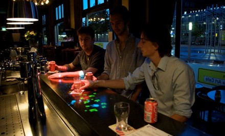 Anemone -- interactive bar