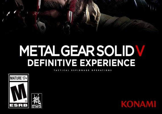 Metal Gear Solid V 5 Definitive Experience Activation Key PC Game Download