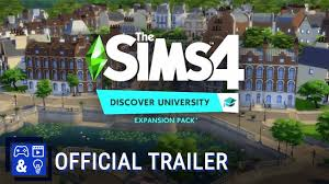 The Sims 4 Discover University Update v1 58 69 1010-Crack PC