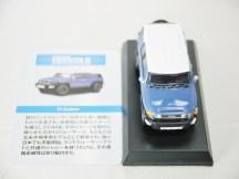 1-64 Kyosho TOYOTA FJ Cruiser Blue 07
