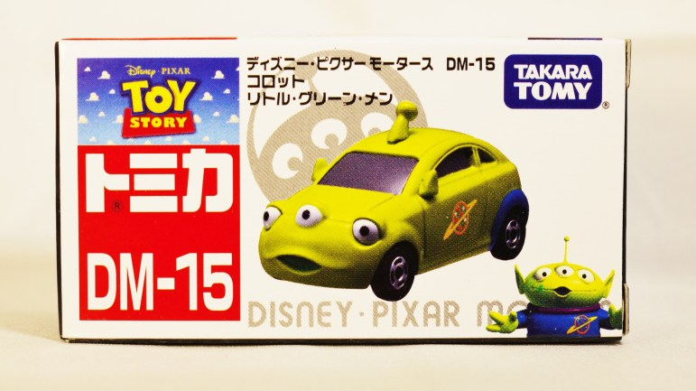 TOMICA-Disney-Toy_Story-Alien-Racing Corotto-Hatchback-Green-7
