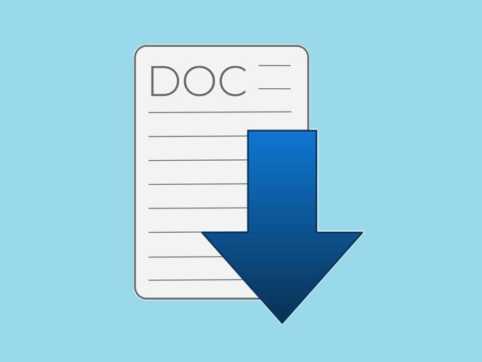 [img.1] Mengonversi Word ke PDF dengan mudah