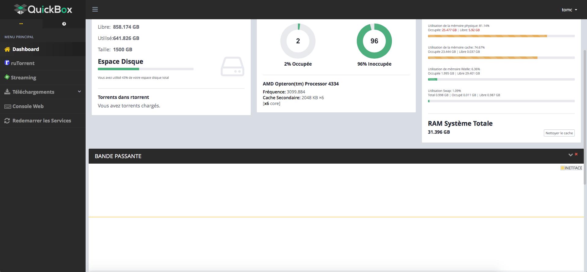 Bandwidth Data Plugin Issue