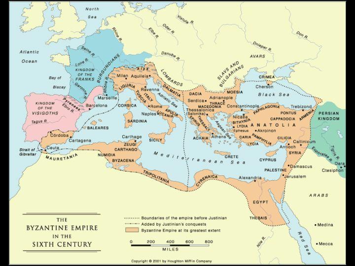 Map of Byzantium