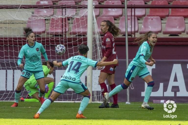 Futbol | El Levante arranca con victoria en Las Gaunas (1-2) - Plaza  Deportiva
