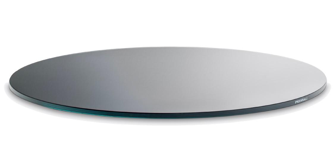 plateau de table verre trempe