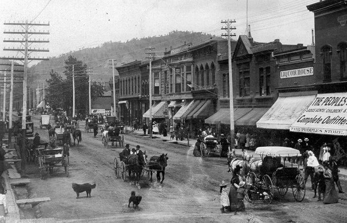 Pearl Street 1220 block Boulder Colorado 1899