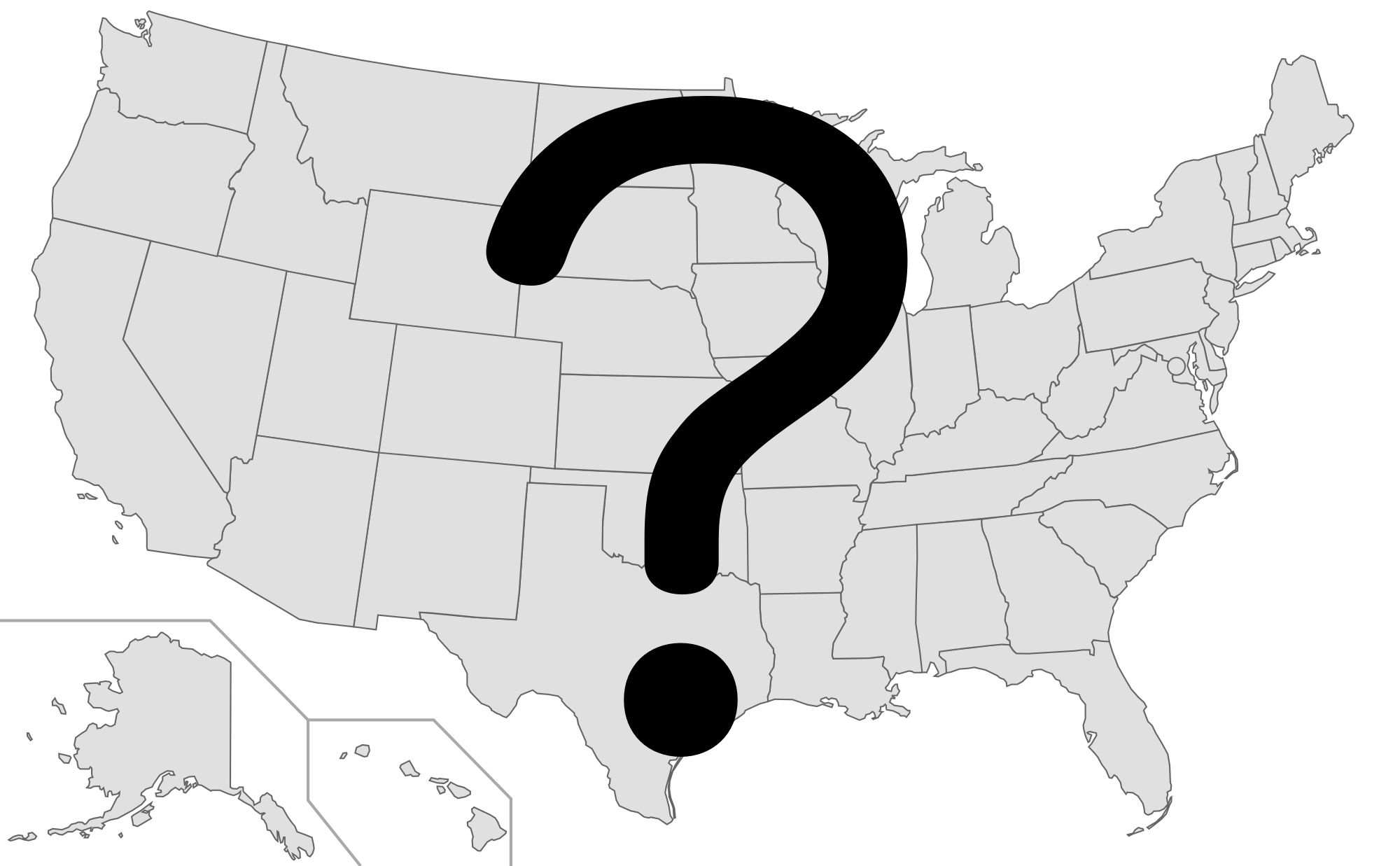Blank Maps Of The US And Other Countries US And Canada - Blank us map high resolution