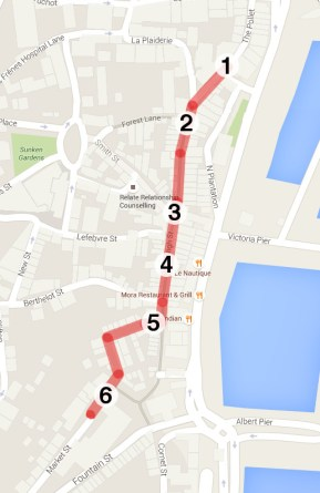 Guernsey High Street area map b