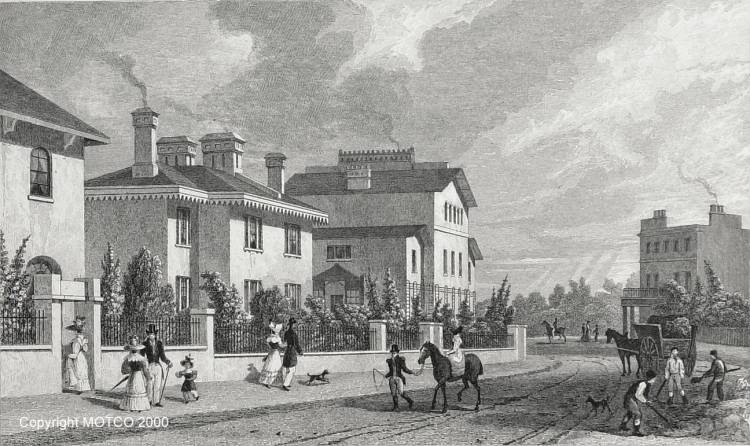 Park Village, John Nash