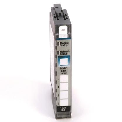 STOCK: Allen-Bradley 1734-IB4 POINT I/O 4 Point Digital Input Module