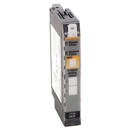 STOCK: Allen-Bradley 1734-OE2C POINT I/O 24V Dc 2 Channel High Density Analog Current Output Module