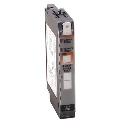 STOCK: Allen-Bradley 1734-IE2C 24V Dc 2 Channel High Density Analog Current Input Module