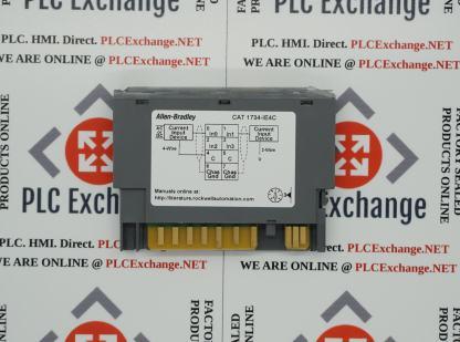 Allen-Bradley 1734-IE4C 24V Dc 4 Channel High Density Analog Current Input Module