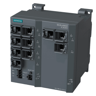 Siemens 6GK5310-0BA10-2AA3 SCALANCE X310FE, managed plus IE switch, 10x 10/100 Mbit/s