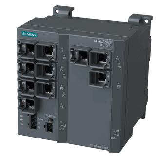 Siemens 6GK5310-0BA10-2AA3 SCALANCE X310FE, managed plus IE switch, 10x 10/100 Mbit/s