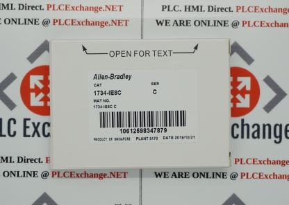 Allen-Bradley 1734-IE8C 24V Dc 8 Channel High Density Analog Current Input Module