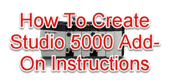 Studio 5000 Add-On Instructions-Featured