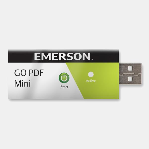 Emerson GO PDF Mini Logger