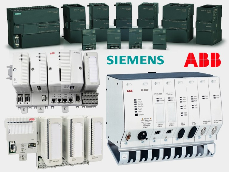 Buy PLCs and DCS products of Siemens, ABB