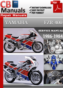 Yamaha Fzr400 1986 1994 Maintenance Manual Download Maintenance And Repair Manuals